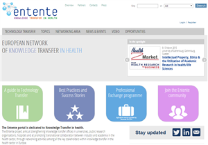 Img Internet and ENTENTE promoting the health research dissemination