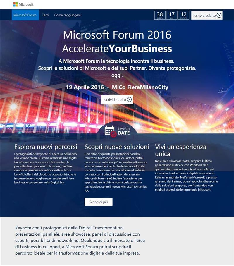 Copy of Microsoft Forum